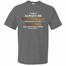 La realidad Glitch Hombre siempre ser tú mismo Viking Camiseta