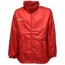 9520V giubbotto antipioggia uomo ASICS red rain jacket man