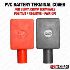 """Di alta qualità PVC morsetto della batteria copre-SEIWA crimpare tipo """"Coppia Di"""