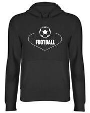 Love Football Mens Ladies Womens Hoodie
