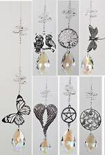 🌈jllAU- Silver Crystal Suncatcher Window Hanging rainbow suncatchers 16 designs