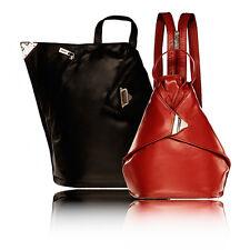 VISCONTI Lady LEDER Rucksack Mini Damen Tasche TOP Damentasche Rot NEU schwarz