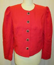 Damen Trachten Jacke Janker rot Gr. 42