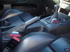 FITS BMW E30 E36 E34 E46 M3 SET GAITERS- GENUINELEATHER NEW