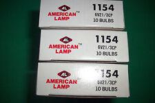 10 # 1154 ,6 V,21-3CP,AMERICAN BULBS HEAVY DUTY PARK AND TURN & BRAKE LIGHT.3.5.