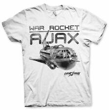 Officially Licensed Flash Gordon- War Rocket Ajax Men's T-Shirt S-XXL Sizes