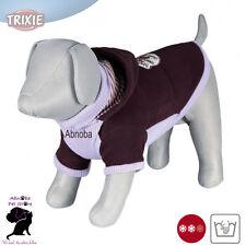 TRIXIE Cane SANREMO Pullover Polo con Colletto Maniche Cappuccio Lana Spessa in lana sintetica