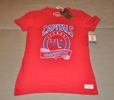 BNWT Washington Capitals Mitchell & Ness Women's V-neck T-Shirt (M) Shirt Jersey