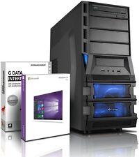 PC Quad Core Computer GAMER AMD A10-7700K 16GB 256GB HDD + 500GB Windows 10
