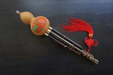 100% Artisanat Hulusi Standard Flûte Chinoise  + Coffret + Guide à Jouer #105