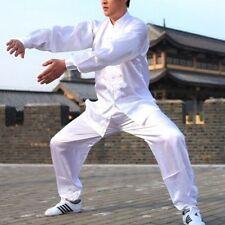 Unisex Martial Arts Uniform Kung Fu Suit Costume Tai Chi Performance Clothes New