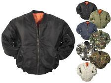 Neu US Pilotenjacke MA1 Jacke Blouson Herrenjacke Bomberjacke XXS-XXXL