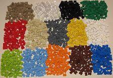 LEGO COLORED 1 X 2 THICK BRICKS BUILDING BLOCKS YOU PICK 50 or 100 PER LOT