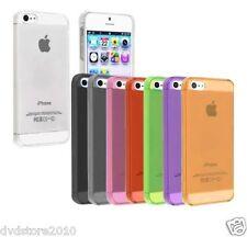 Custodia Antipolvere Cover Case Gel Gomma Morbida TPU Colori Per Apple iPhone