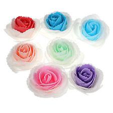 25pcs Colourfast Foam Rose Artificial Flower Wedding Bride DIY Party Decor