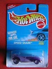 COLLECTOR N° 458    SPEED SHARK   1/64 HOT WHEELS BLISTE IMPORT US