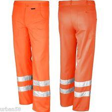Warnschutzkleidung Hose EN 471 Warnarbeitshose Warnhose warn signal orange 42-64