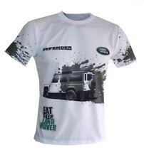 Land Rover Defender unique handmade sublimation graphics men's t-shirt