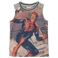 Niños Chicos Gris para Niños Spiderman Sin Mangas Chaleco Top