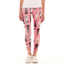 Sugar High Animal Print Leggings Junior Sizes XS, S, M, L, XL New With Tags