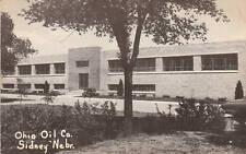 E0784 NE, Sidney Ohio Oil Co. Postcard