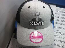 "NEW ERA 9FOURTY XLVIII SUPER BOWL WOMEN""S GRAPHIC HAT/ CAP OSFM ADJUSTABLE REAR"