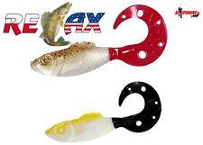 "RELAX SUPER FISH 4"" (10cm)  3Pcs SOFT PLASTIC BAIT LURE PIKE ZANDER PERCH ISHING"