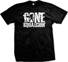 Gone Squatchin' - Bigfoot Sasquatch Slogans Sayings Statements - Men's T-shirt
