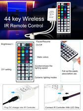 44keys Wireless IR Remote Controller For DC 12V 5050 3528 RGB LED Light Strip