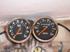 Triumph Norton BSA smiths replica speedometer + Tachometer (Set)