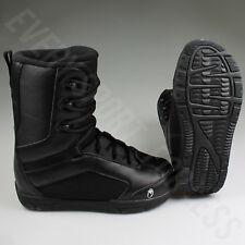 Snowjam SD Force Senior Snowboard Boots - Black (NEW)