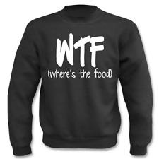 Pullover WTF I Fun I Sprüche I Lustig I Sweatshirt