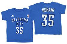 Adidas NBA Toddlers Oklahoma City Thunder Kevin Durant #35 Game Time Tee