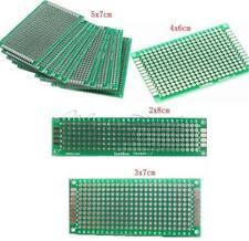 10Stks Double Side Prototype PCB Tinned Universal Breadboard 2x8cm - 9x15cm