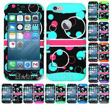 For Apple iPhone 6 Plus   6s Plus - KoolKase Hybrid Cover Case Bubble Circle 89