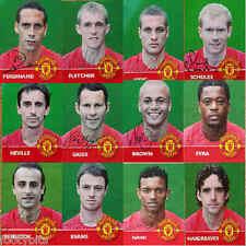 Titre Chase Manchester United préimprimé autographié de football-divers