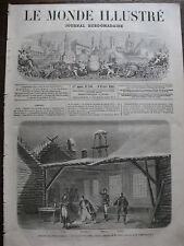 MONDE ILLUSTR 1861 N 200 LE BAL MASQUE par GUSTAVE DORE