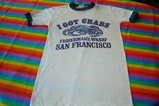 1975 vintage I Got Crabs Tee Shirt San Francisco Rock!
