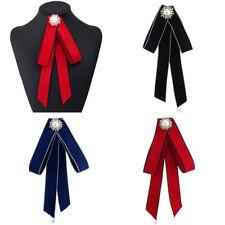 Women School Professional Uniform Necktie Female Colleague Bowtie Bow Neck Tie