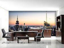 3D Die wahrzeichen der Stadt Fototapeten Wandbild Fototapete BildTapete Familie