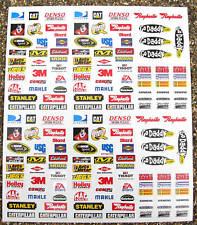 Rc Nascar Gt Stickers Calcomanías Tamiya Hpi Associated Losi