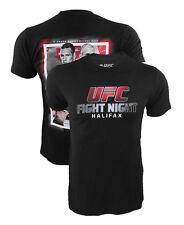 UFC FS1 Halifax Eveent Shirt Rory MacDonald vs Tarec Saffiedine Small Medium