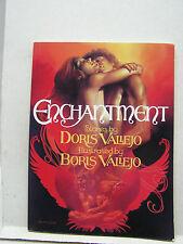 1985 Enchantment Softcover Art Book- Boris & Doris Vallejo- (L8516)