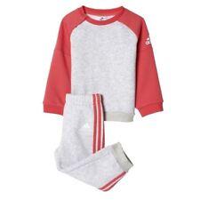ADIDAS BABY INFANT KIDS GIRLS TODDLER TRACKSUIT SET PLAY GYM COTTON/POLY BP5290