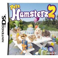 Petz Hamsterz 2 nintendo ds nds 2DS 3DS pets hamsters 2 neuf scellé uk libération