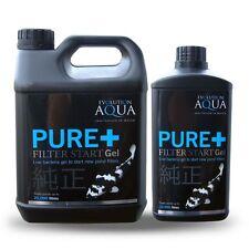 Evolution Aqua Pure + Filter Start Gel 1ltr 2.5 ltr L Live Pond Bacteria Boost