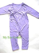 Organic Bamboo Fiber Baby Longsleeve Romper bodysuit..cashmere feel...6-9,9-12mo