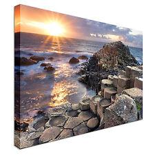 SUNSET a GIGANTE S Causeway A MURO ARTE stampe di alta qualità