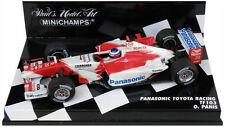 Minichamps TOYOTA RACING tf103 2003-OLIVIER PANIS 1/43 SCALA