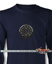 AC Shelby Cobra Daytona Speedometer Long Sleeves T-Shirt Multiple Colors & Sizes